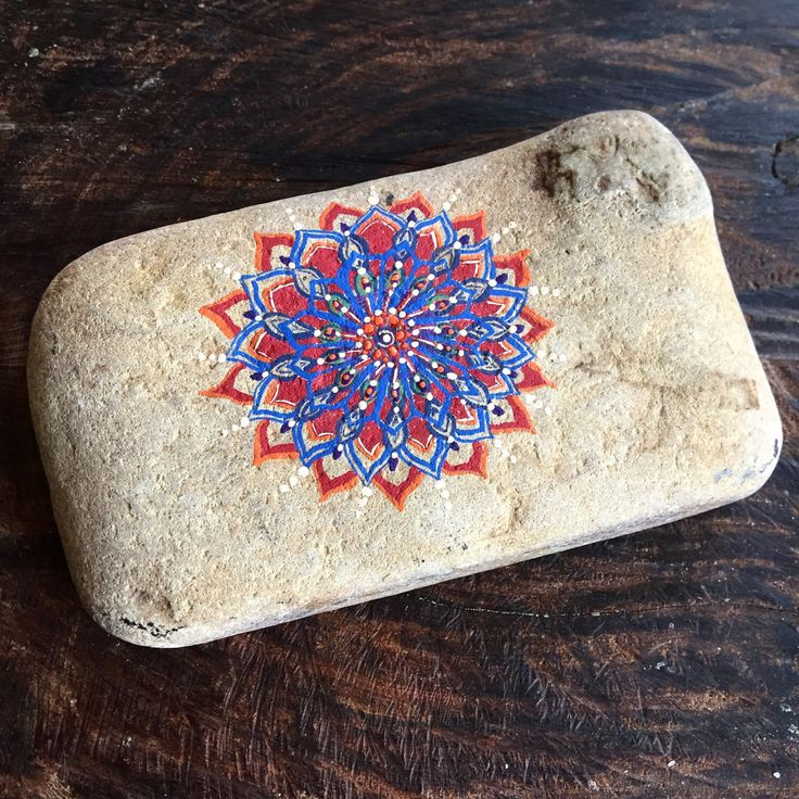 Mandala, soap stone, painted rock, thank you gift, spa gift by TheEarthyChild on Etsy https://www.etsy.com/listing/479889234/mandala-soap-stone-painted-rock-thank