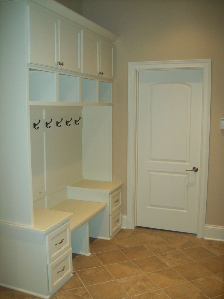 Small Mud Room Storage