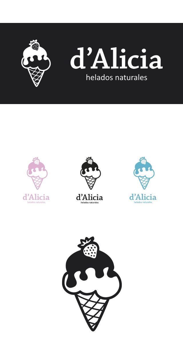 Diseño de Logotipo Heladería artesana