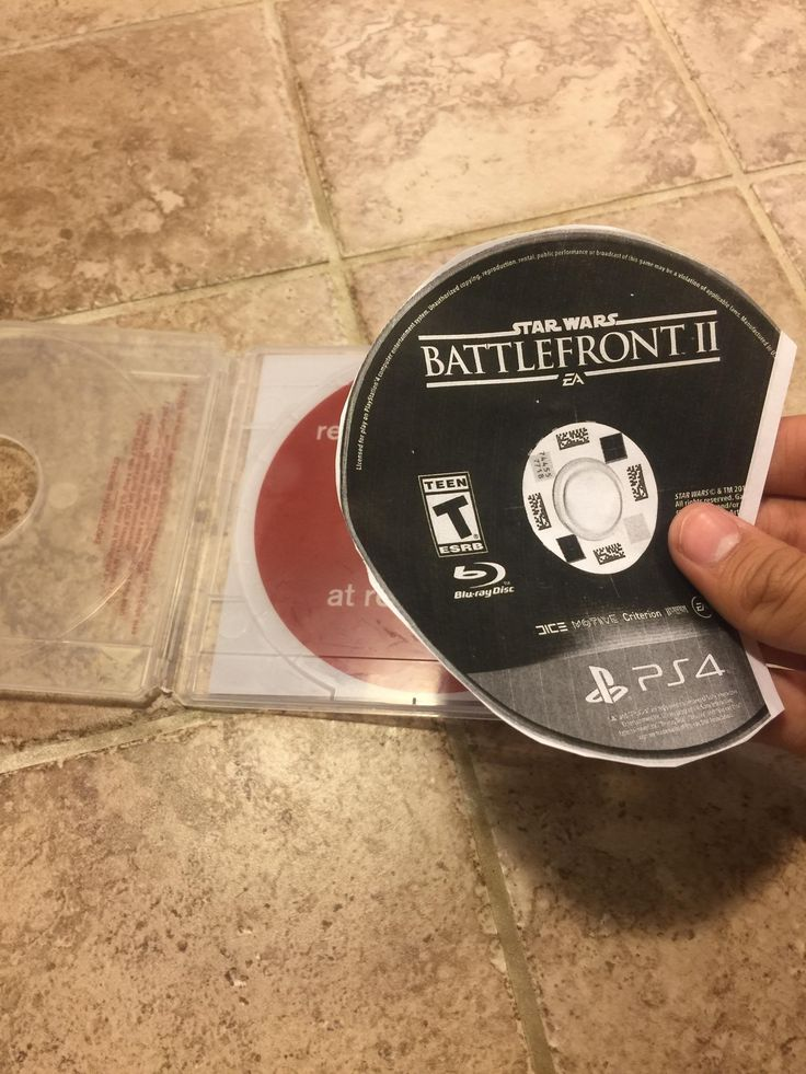 Someone stole a game from the RedBox this is what I was left with.
