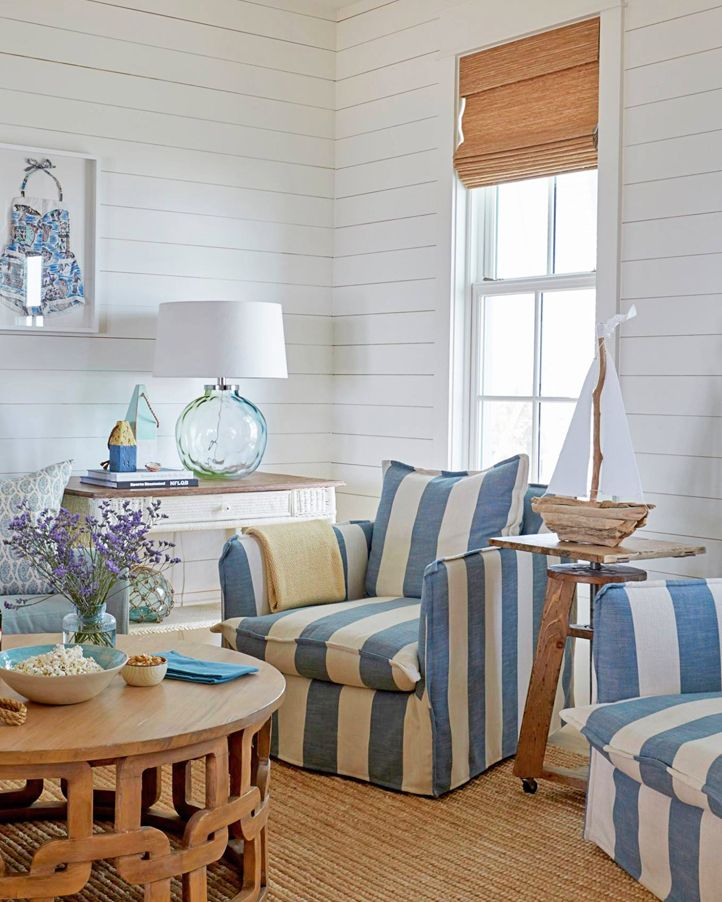 Slipcovered Furniture -Sofas & Chairs for Easy Coastal Style ...