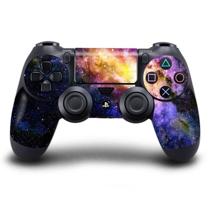NEBULA-TWO MAGICSKINS PS4 CONTROLLER SKINS+TRACKED MAIL-Playstation Sticker #MagicSkins