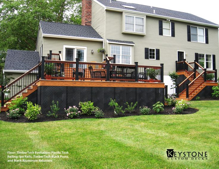 Best 25+ Deck Spindles Ideas On Pinterest | Decks, Composite Decking And  Wood Deck Designs