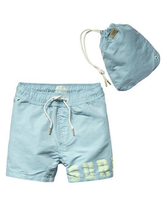 Scotch Shrunk Surf Turquoise Swimshorts 84504