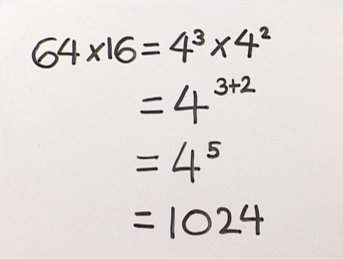 The power of exponential notation - Mathematics (7,8,9). Do you know what 2 raised to the power of 3 equals? See how to write numbers raised to a power.