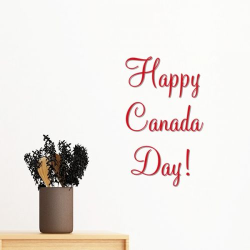 Celelbrate Happy Canada Day Maple Leaf Simple Line-drawing Removable Wall Sticker Art Decals Mural DIY Wallpaper for Room Decal #Wallsticker #Celelbrate #Wallpaper #HappyCanadaDay #Decoration #MapleLeaf #Walldecor #SimpleLine-drawing #Homedecor #Stickers #Poster #DIY #Decorationsforhome #Wallart