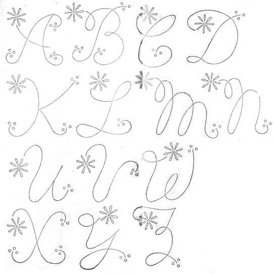 23 Best Alphabet Patterns Images On Pinterest