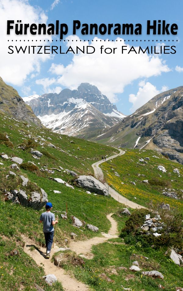 Stunning panorama hike for families in the Engelberg, Switzerland area that passes through fields of wildflowers and leads to a roaring waterfall. Plus a playground and restaurant with a view.