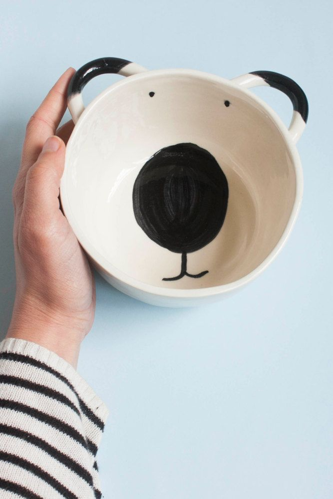 Grumpy mornings don't exist when you're eating cereal out of this bowl.
