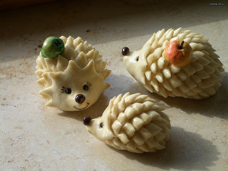 cute little hedgehog tutorial  porcelana fria polymer clay