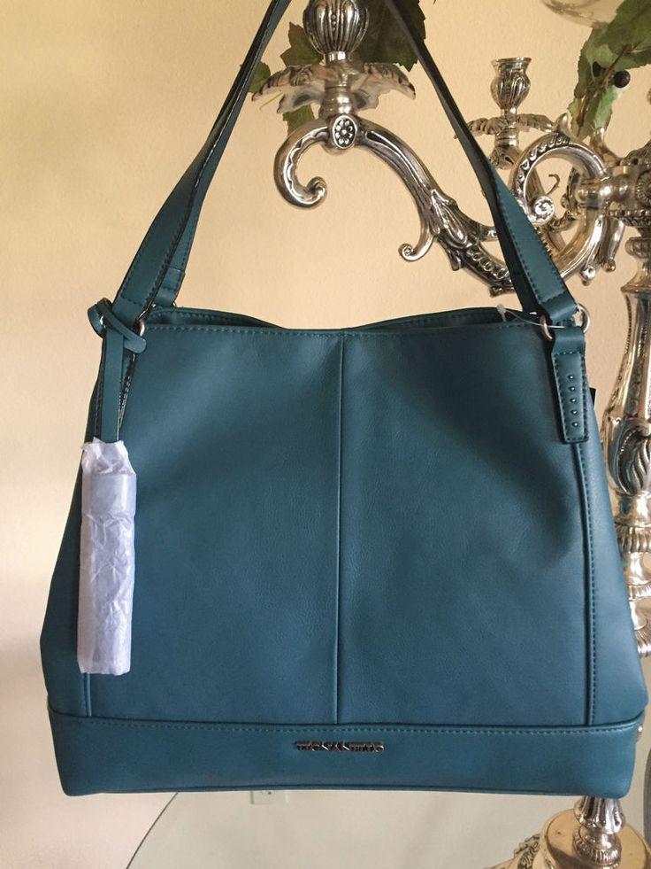 Tignanello Purse Urban Casual Shopper Handbag Juniper NWT $175.00 #Tignanello #Shopper