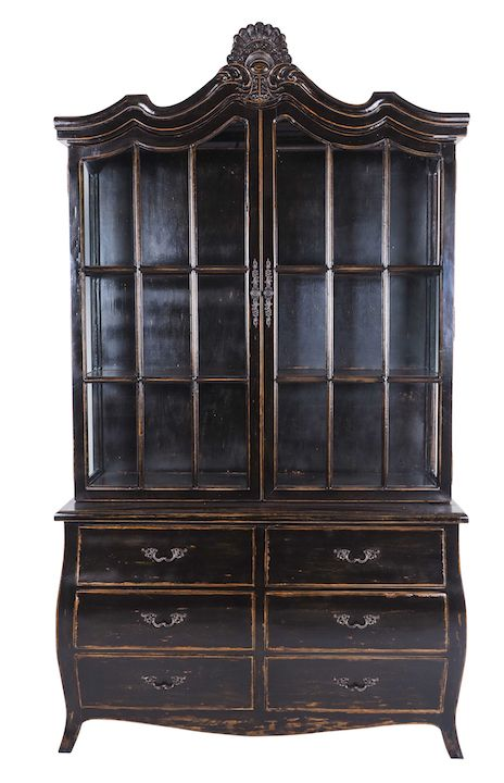 Limited Edition Armoire - available in vintage black and white