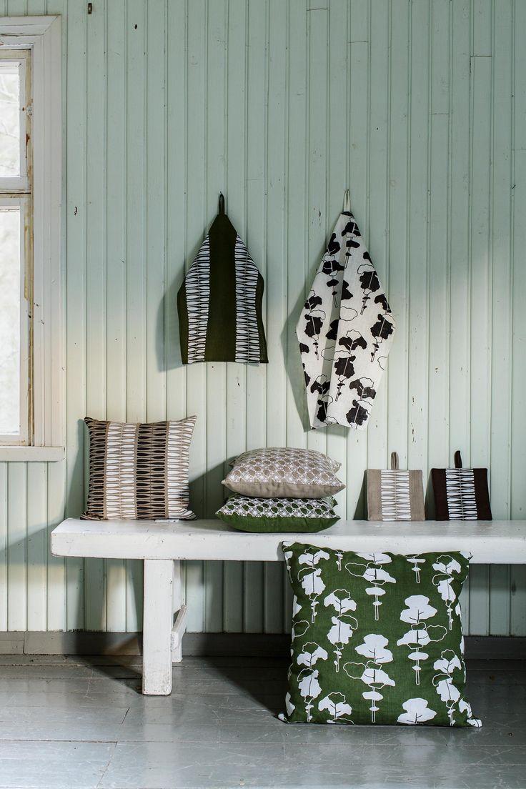 Aapiste textiles, 100 & linen. Design by Riikka Kaartilanmäki.