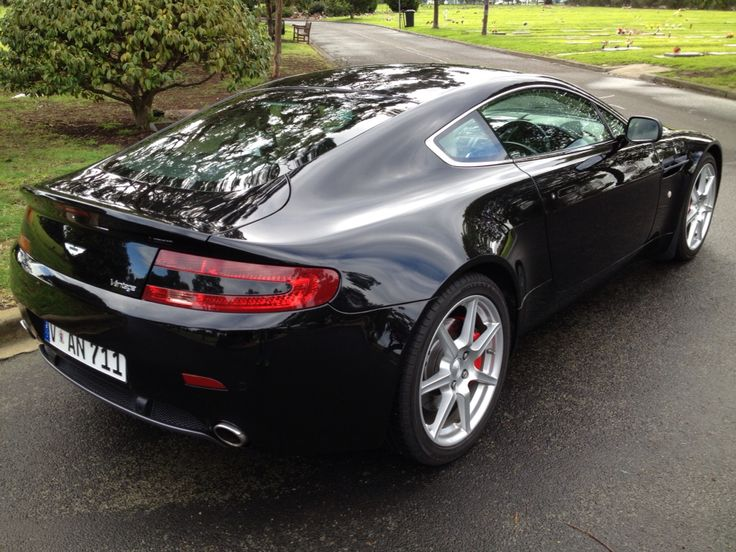 My Aston Martin Vantage V8 - Best drive and sound by far