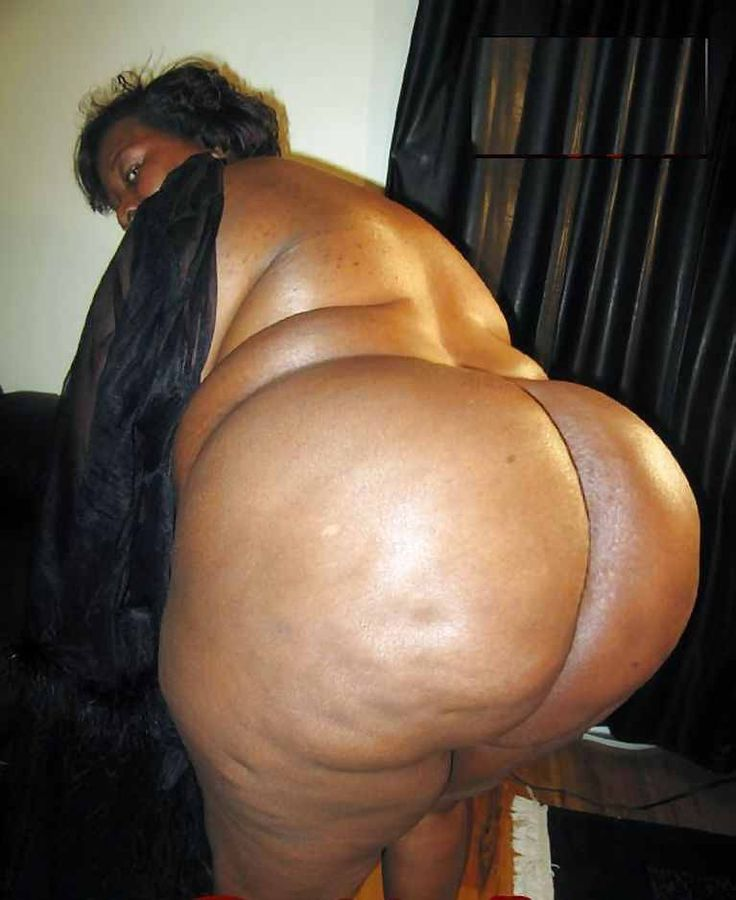 Ssbbw black fat ass
