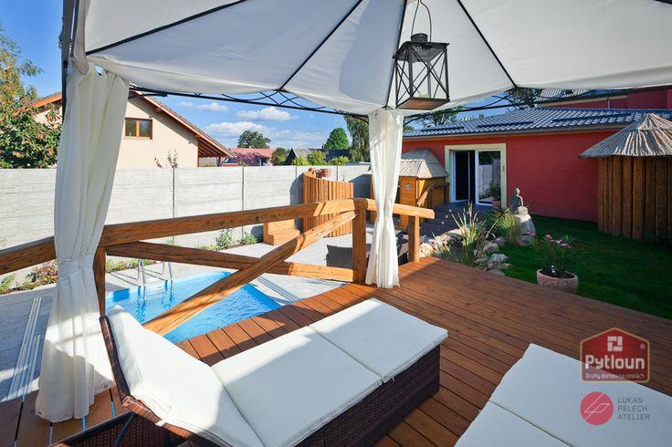 Venkovní část Luxury Island Spa   Wellness Liberec
