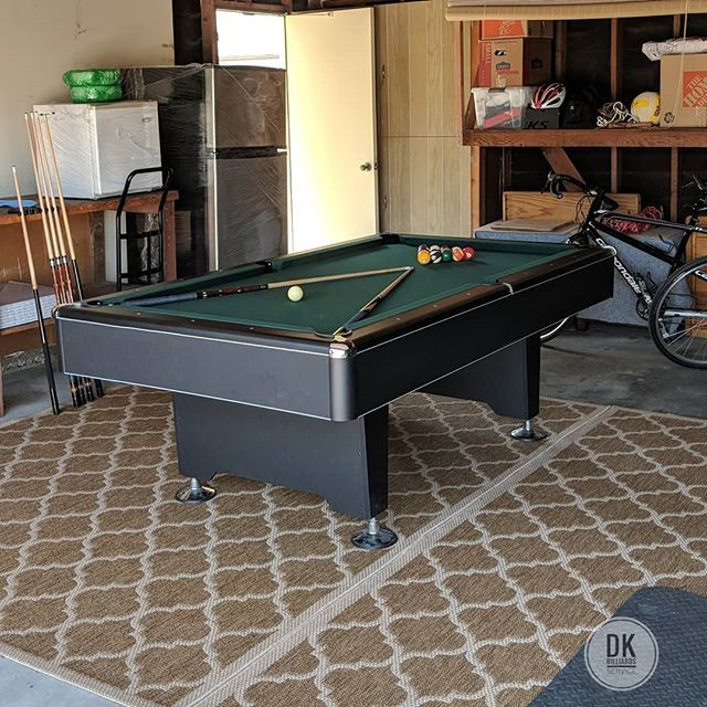 Finished Installing This 7 Ft Addison Pool Table In