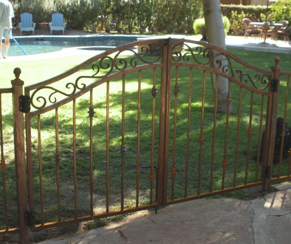 Ornamental Iron Gates Return To Decorative Wrought Iron