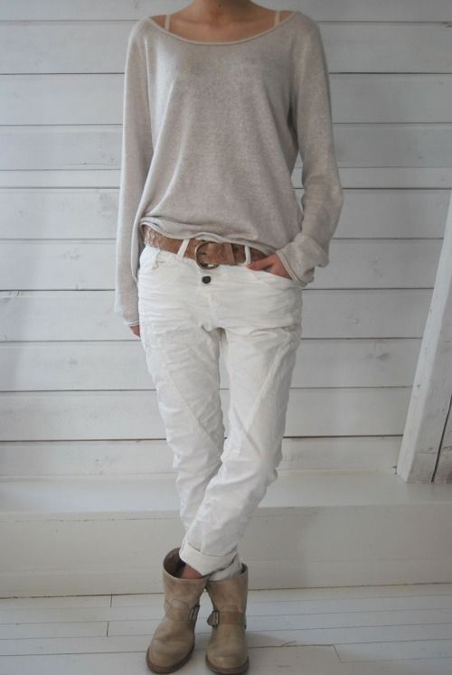 Is it possible to cut out the neck and other hems from a sweater to get this look?