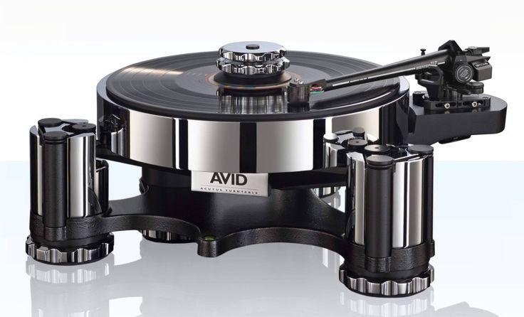 Plattenspieler Acutus von Avid