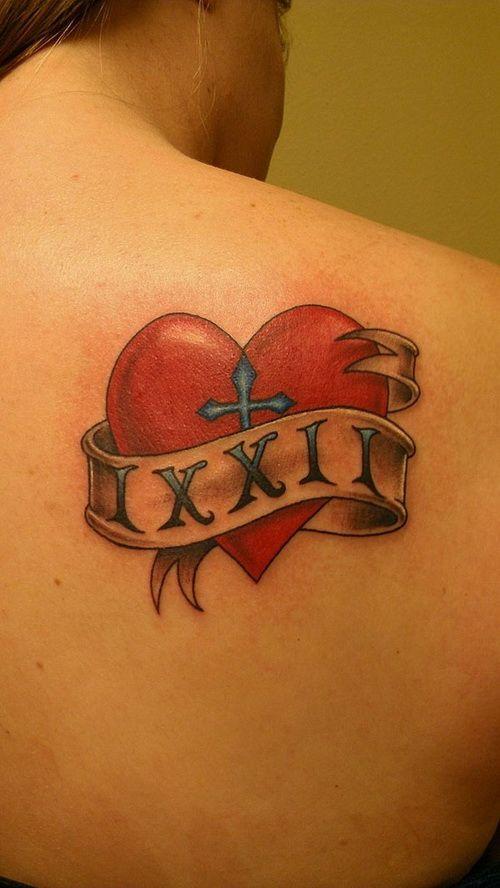 3d Heart Tattoo Design ~ http://tattooeve.com/small-heart-tattoo-designs/ Tattoo Design