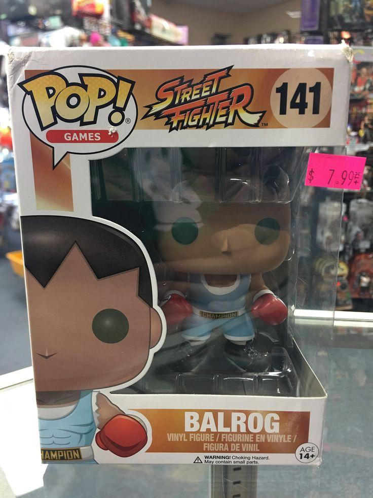 Funko Pop! Street Fighter Balrog 141