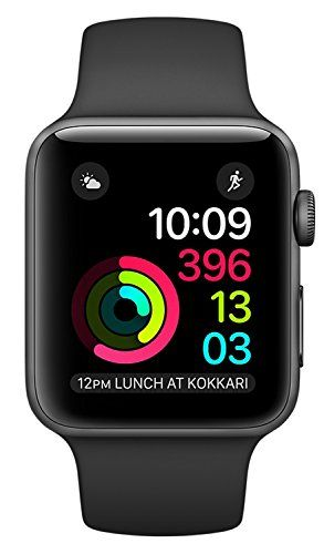 """#Apple #Series #2 #Watch for #iPhone - #42mm #Space #Gray #Aluminum #Case with #Black #Sport #Band #Series #2, Built-in GPS, Water Resistant 50m, S2 Dual-Core Processor, watchOS 3 #Space #Gray #Aluminum #Case, #42mm (Fits 140-210mm wrists), #Black #Sport #Band, Changeable Faces with Widgets, Siri Integration, 1.5"""" Display, Ion-X Glass, Ceramic Back, Digital Crown, 2x Brighter OLED Retina display with Force Touch https://technology.boutiquecloset.com/product/apple-series-2-wat"""