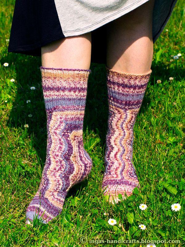 MM Sokisalakas 2016 Secret Knitting Socks