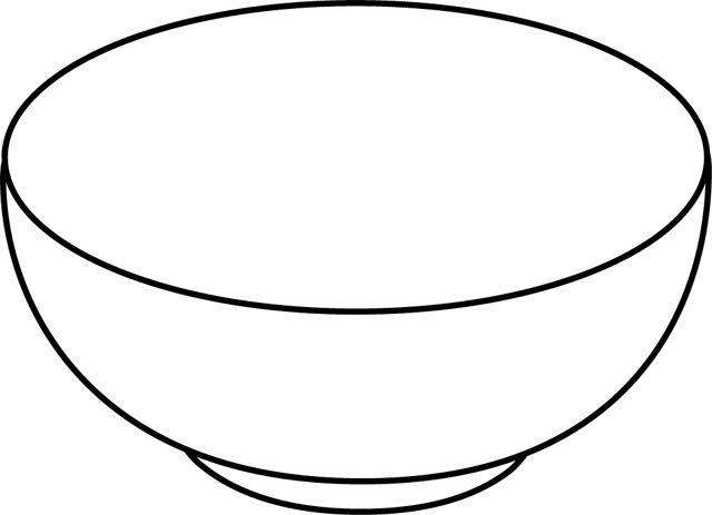 Peindre le bol en rouge coller des gommettes blanches un - Coloriage assiette ...