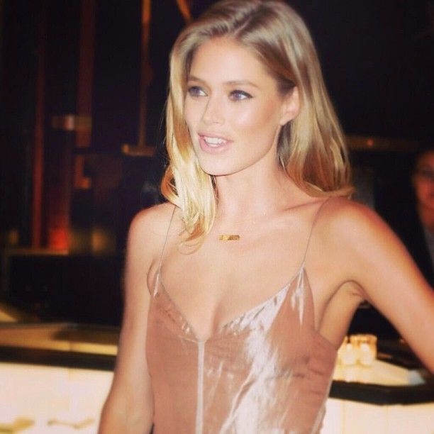 Get supermodel Doutzen Kroes' look in TTYA X LTS Metallic Cami. #TTYA4LTS