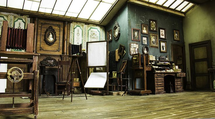 I Built A Miniature 1900s Photo Studio In Honor Of An Old Photographer | Bored Panda