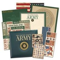 Army Scrapbook I started for my husband. I really should update it with our current duty station LOL