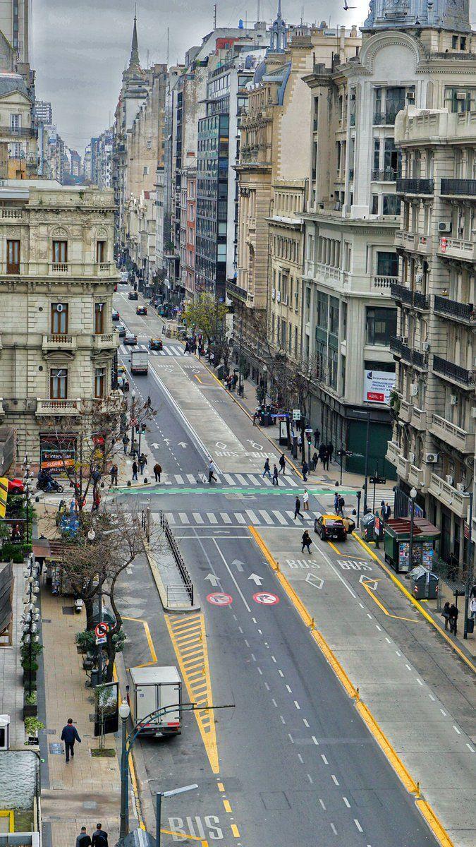 Córdoba Avenue Buenos Aires Argentina [675x1200]
