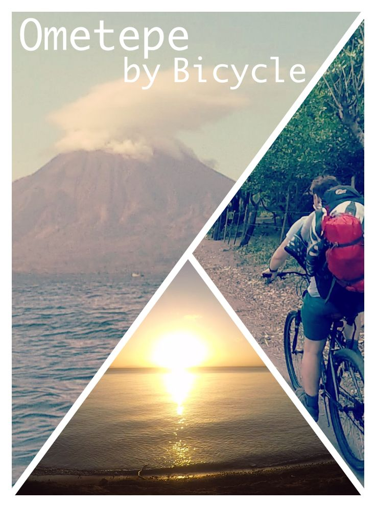 How we did a self-guided bicycle tour around Ometepe #ometepe #isladeometepe #bicycle #cycling #travel #nicaragua #nature #green