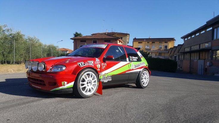 Ruote EVO Corse modello Sanremo Corse Gr A misure 7x17 applicazione dedicata Citroen Saxo KIT o SUPER 1600,produzione ITALIANA di alta qualità dai pesi contenuti. #evocorse #sanremocorse #gra #white #madeinitaly #citroensport #saxovts #rally #racing #ruoteclassiche #wheels #alloywheels #jantes #france #followus #enginesport