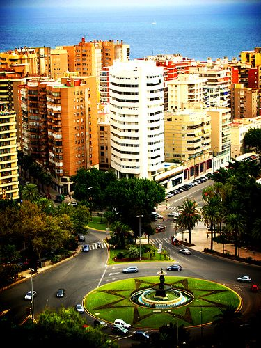 Malaga, Spain! Where I'll be spending the next 18 months of my life! :D :D:D