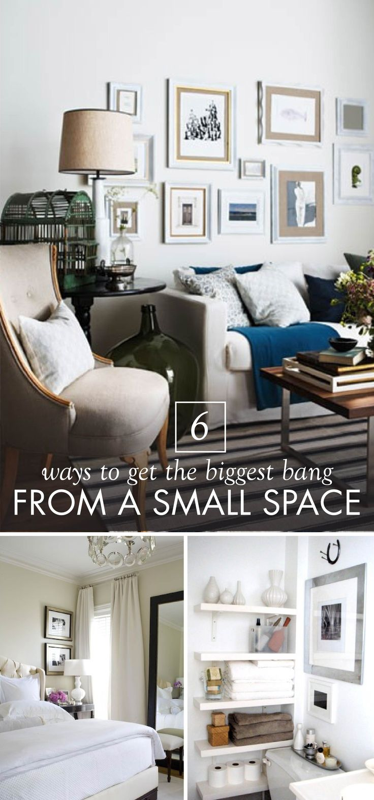 213 best Small Space Style images on Pinterest | Small spaces ...