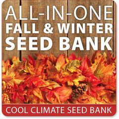 NEW! Fall Garden Seed Bank | 20-in-1 Seed Kit + BONUS! | SeedsNow.com GMO FREE ORGANIC