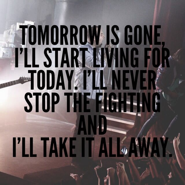 August Burns Red changed my life!
