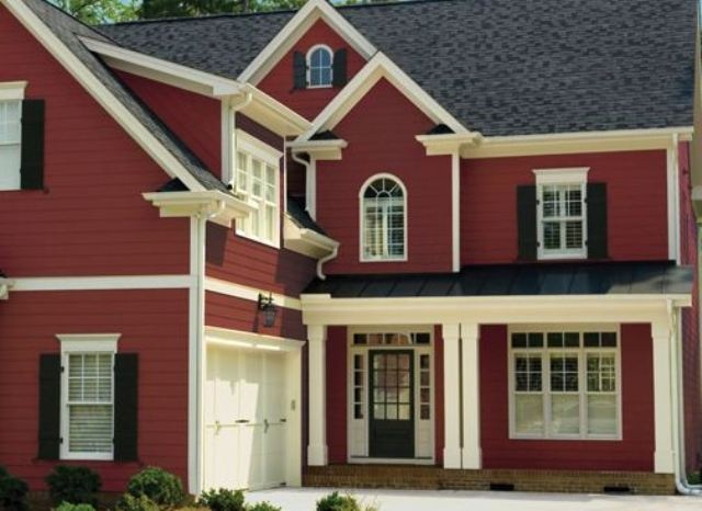 best exterior paint for houses and this blue color exterior home