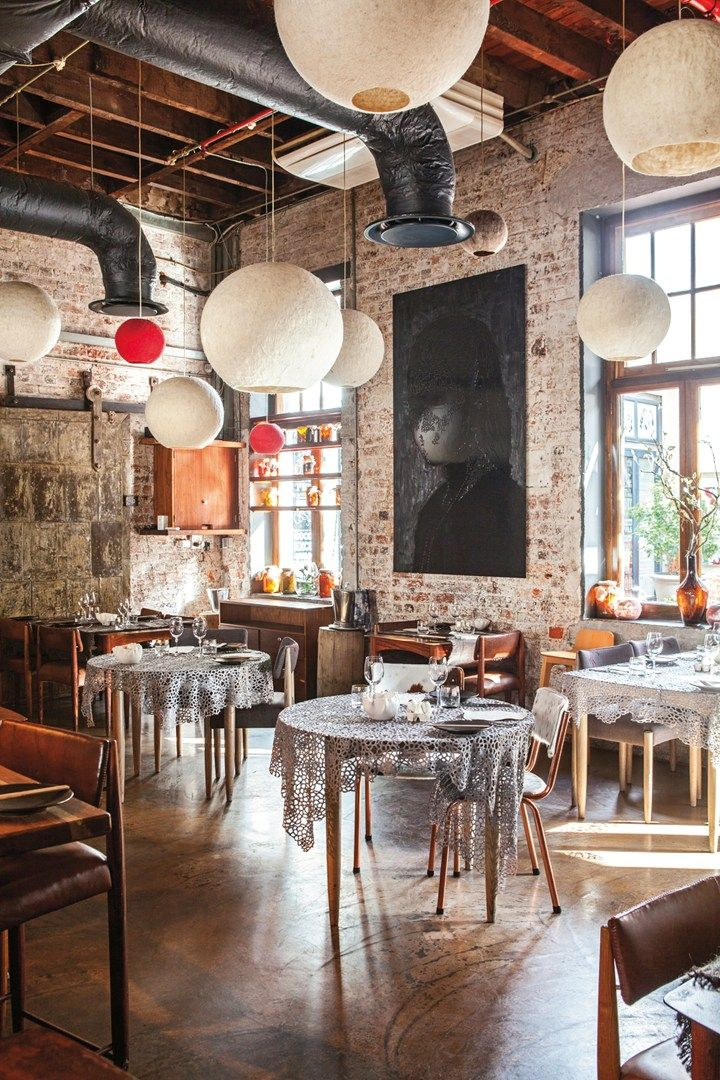 The Test Kitchen restaurant, Cape Town, South Africa. Photo by: Shanna Jones