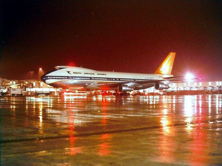 SAA 747-200 London Heathrow