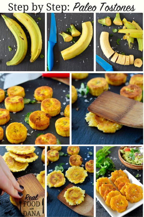 Tostones (Fried Green Plantains) ~ Real Food with Dana