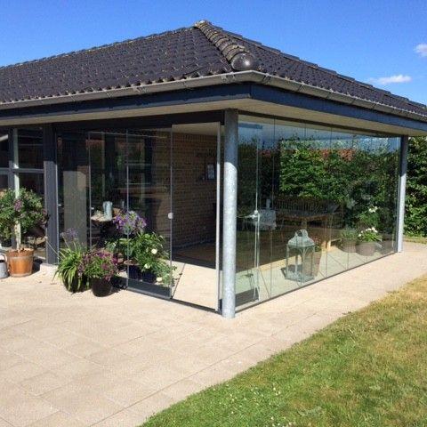 En lille oase! Terrasseinddækningen giver en unik mulighed for at udnytte alle årstiderne fra sin terrasse.