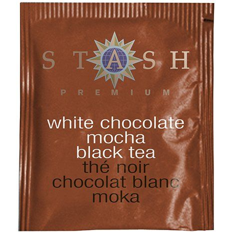 Stash Tea White Chocolate Mocha : caffeinated