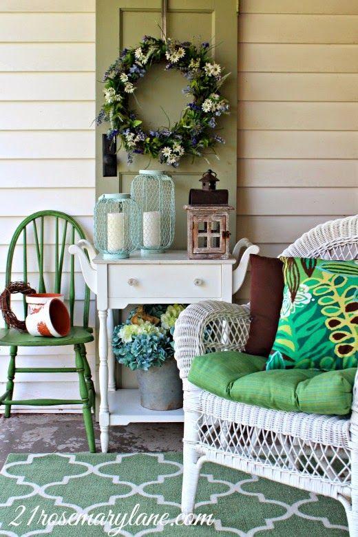 17 Best Images About Summer Porch Decor On Pinterest