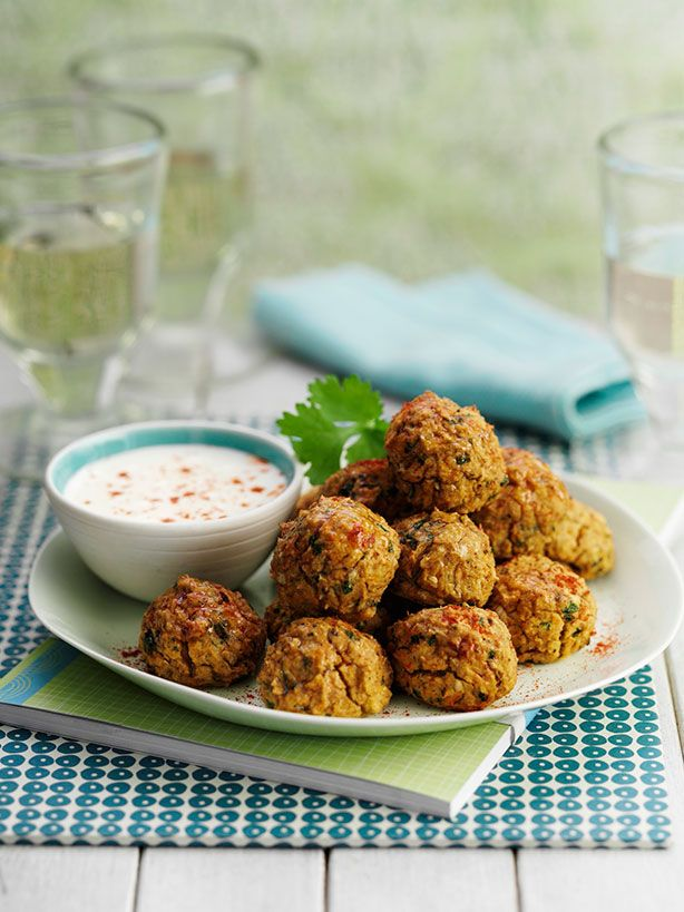 Weight Watchers Recipes • Baked Falafel (2 smart points)                                                                                                                                                     More