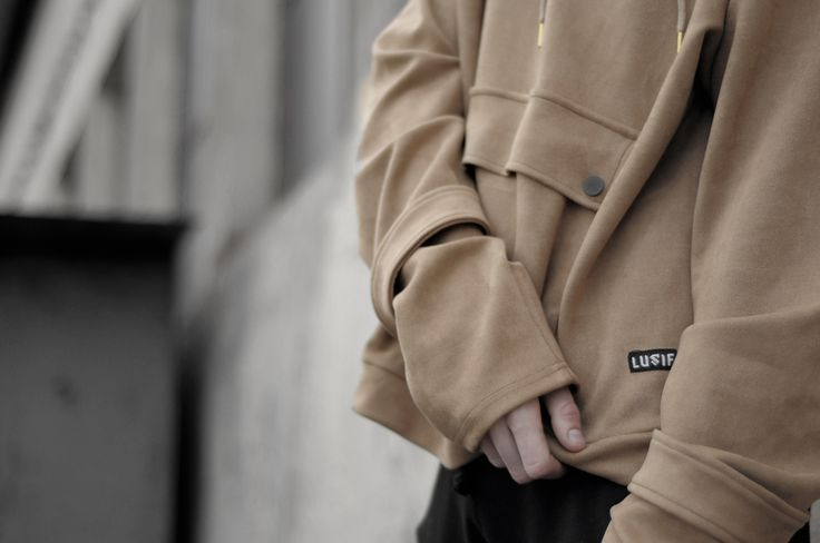 Over the law - Wears LUSIF SS1 Suede Hoodie