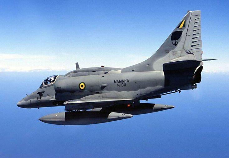 A-4 Skyhawk, I trained on it in NAS Jacksonville.