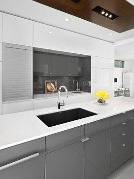 LG House - Kitchen - Modern - Kitchen - Edmonton - thirdstone inc. [^]